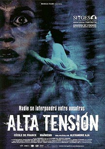 cine slasher alta tension Alta Tensión Alta Tensión (Haute Tension) cine slasher alta tension películas PELÍCULAS cine slasher alta tension