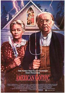 american gothic poster critica de-la pelicula de john hough american gothic Escóndete y Tiembla (American Gothic) american gothic poster critica de la pelicula de john hough 1