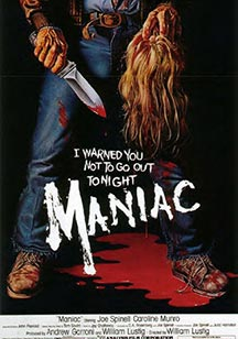 cine slasher maniac Maniac Maniac cine slasher maniac  Cine Fantástico, cine de terror y cine independiente cine slasher maniac