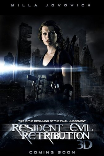 RESIDENT EVIL RETRIBUTION RESIDENT EVIL RETRIBUTION resident evil retribution poster