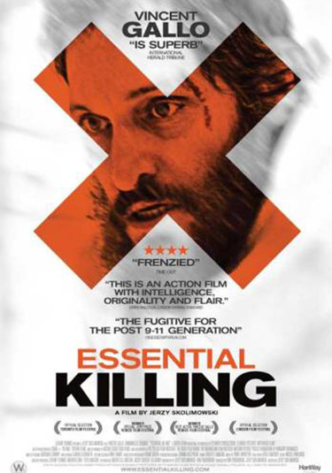 crítica de essential killing con vincent gallo essential killing