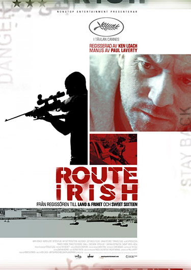 route irish poster route irish