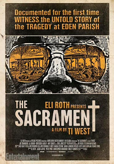 The Sacrament, 2013 poster the sacrament
