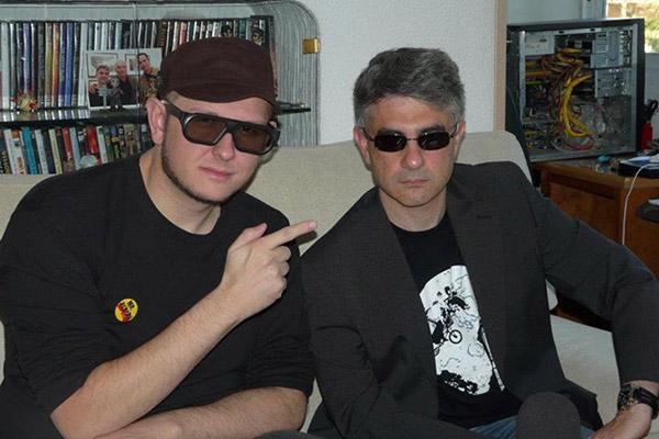 Paco Fox Entrevista a Paco Fox Paco Fox y Viruete cinebasura la peli