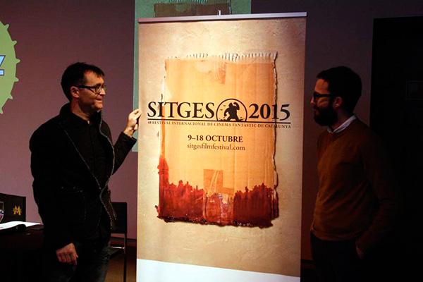 Presentación del cartel del festival de Sitges cartel del festival de sitges 2015 Cartel del Festival de Sitges 2015 cartel del festival de sitges 2015 seven