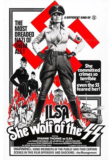 Ilsa-la-loba-de-las-ss-poster dyanne thorne Entrevista Dyanne Thorne y Howard Mauer Ilsa la loba de las ss poster