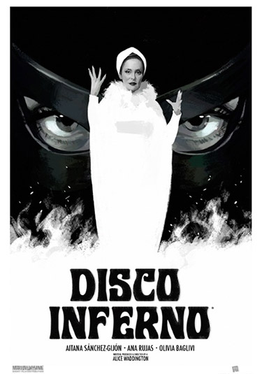 critica de Disco Inferno de Alice Waddington cartel y poster disco inferno