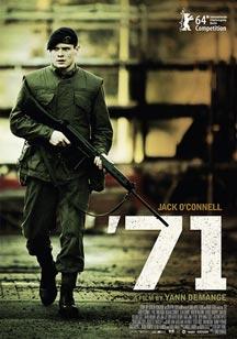 critica 71 poster cartel 71 '71 critica 71 poster cartel  Cine Fantástico, cine de terror y cine independiente critica 71 poster cartel