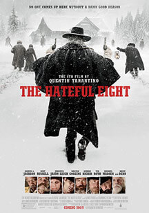 los odiosos ocho the hateful eight poster destacada