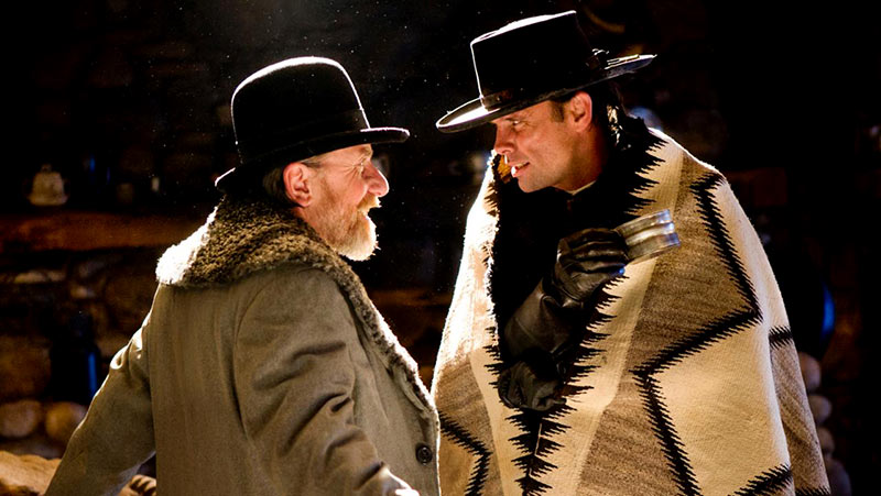 tim roth walton goggins hateful eight odiosos ocho odiosos ocho