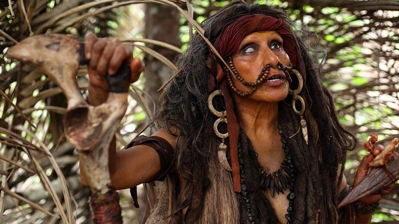 the green inferno pelicula canibales