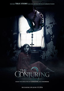 the conjuring 2 el expediente warren el caso enfield poster destacada