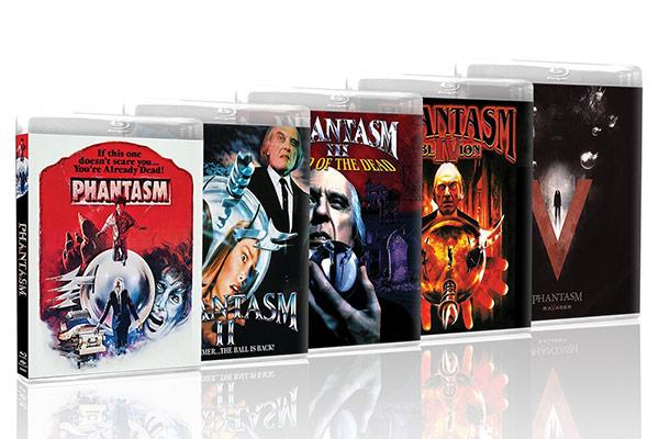 La saga PHANTASMA en dvd y bluray phantasma