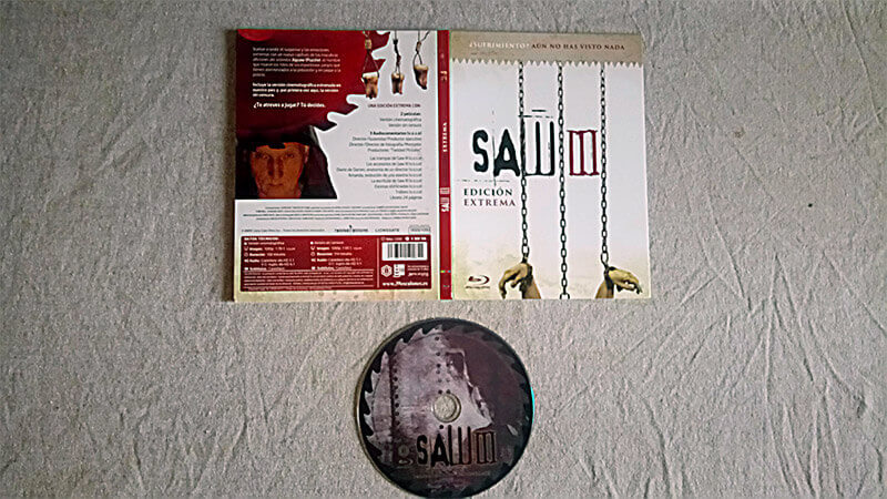saw III edicioni extrema bluray saw iii