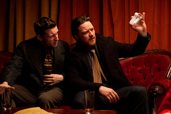 Filth (el Sucio) con James McAvoy filth (el sucio)