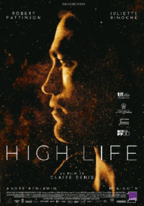 High Life con Juliette Binoche y Robert Pattison-poster