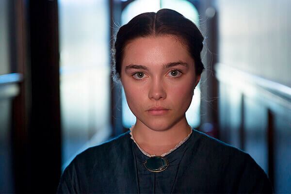Florence Pugh es Lady Macbeth