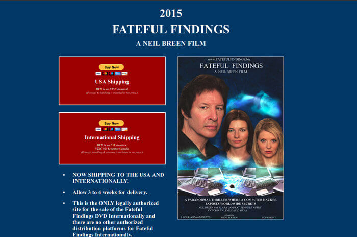 Neil Breen fateful findings