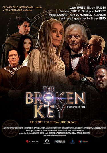 The broken key póster
