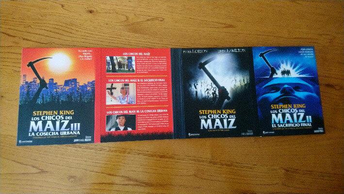 Títulos Pack Los Chicos del Maíz en blu-ray los chicos del maíz Los Chicos del Maíz en blu-ray pack los chicos del maiz portadas 1 2 y 3