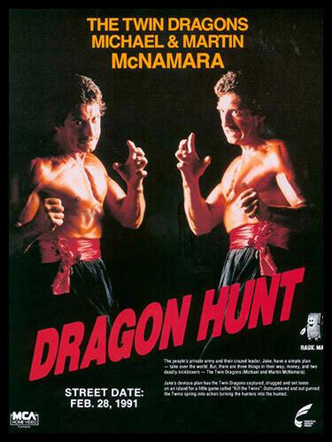 Los gemelos McNamara, The Twin Dragons en Dragon Hunt los gemelos mcnamara Los gemelos McNamara (I) dragon hunt