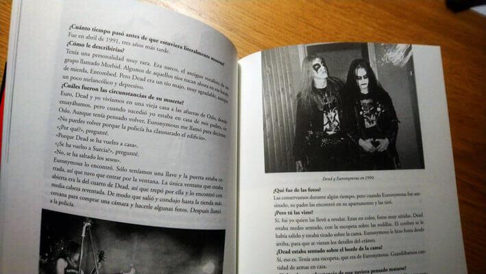 Libro Señores del Caos: el auge del metal satánico