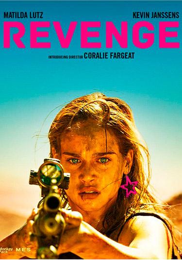 Póster de Revenge, de Coralie Fargeat