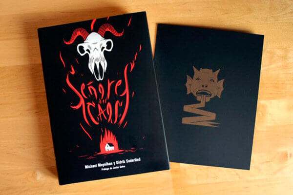 Libro Señores del Caos: el auge del metal satánico señores del caos Señores del Caos senores del caos libro