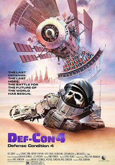 Def-Con 4 póster de la película