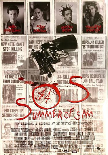 Póster de Summer of Sam, Nadie está a salvo de Sam, una película de Spike Lee