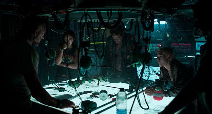 Underwater, película de terror submarino